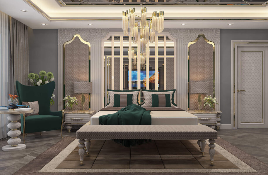 Luxury Neo Classical Bed Room