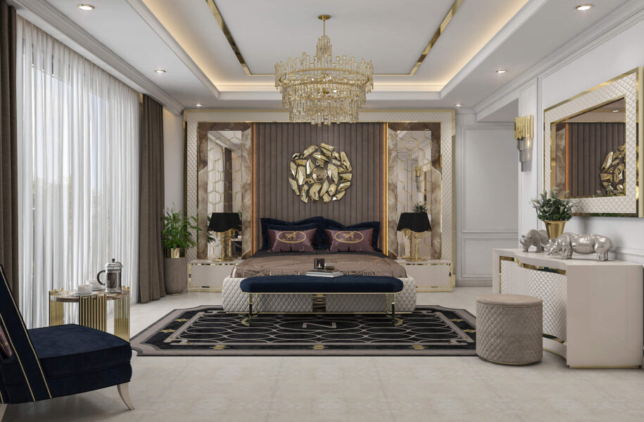 Luxury Zebrano Bedroom