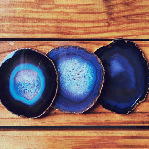 Blue Eye Agate Coaster