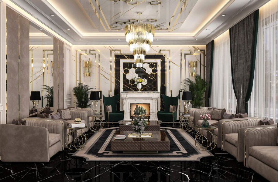 Coveted Neo Classical Drawing Room