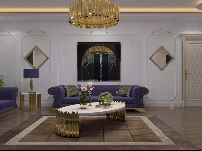 Neo Classical Living Room