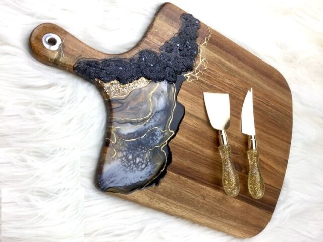 resin wooden chopping board for export