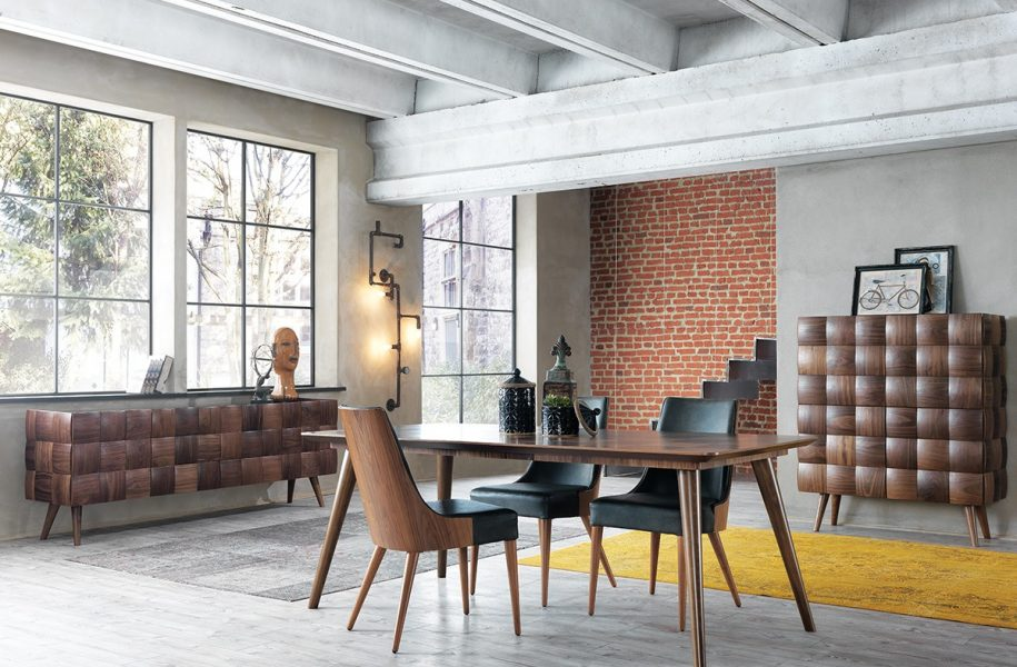 Masterly Appointed Modern Dining Room