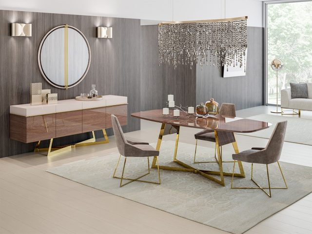 Aura Dining Room By Nills Luxury Furniture