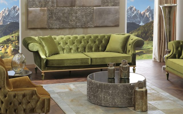 Balanca Living Room By Zebrano Luxury Furniture