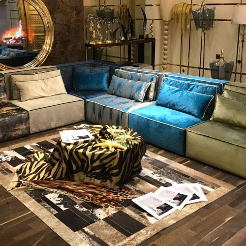 Bonucci Corner Sofa By Zebrano Luxury Furniture