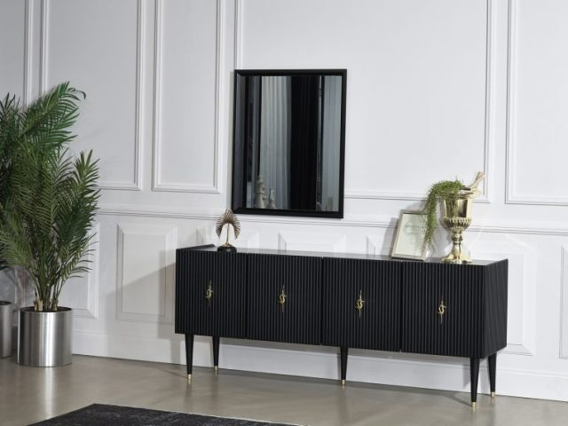 Creo Black Dining Room By Berrak Luxury Furniture