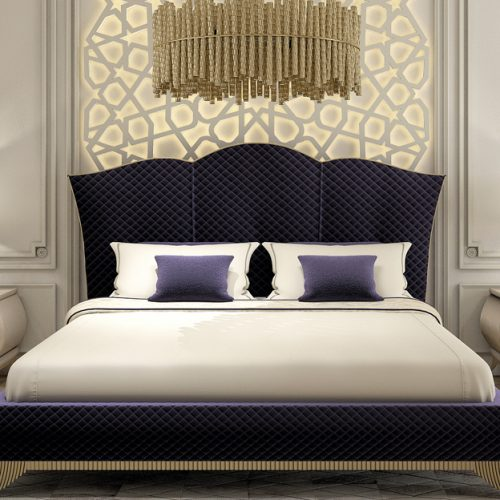 Daimo Bed Room By Zebrano Luxury Furniture
