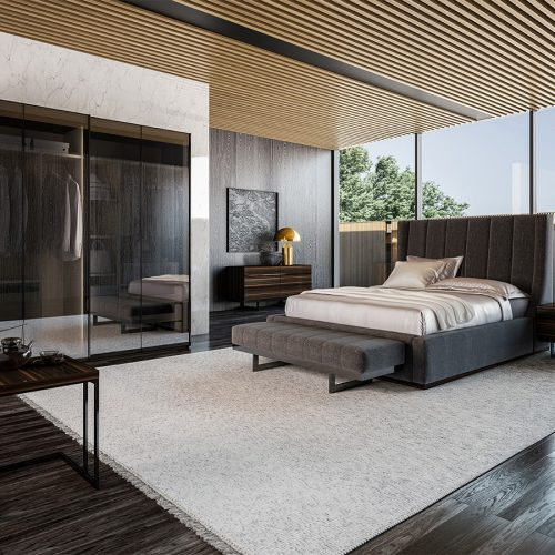 Elegant Bed Room By Nills Luxury Furniture