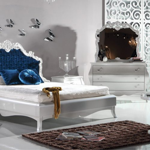 Emily Bed Room By Zebrano Luxury Furniture