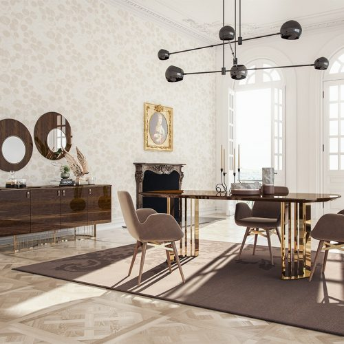 Favor Dining Room By Nills Luxury Furniture