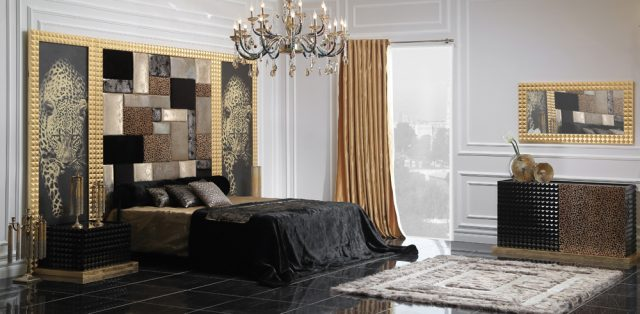 Fortuna Bed Room By Zebrano Luxury Furniture