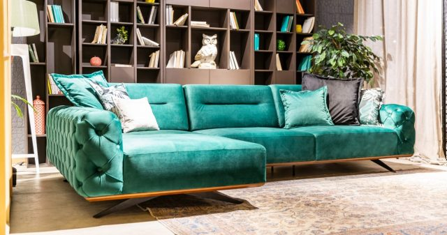 Gallardo Corner Sofa By Saloni Luxury Furniture