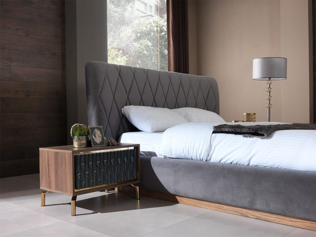 Gold Bed Room By Nills Luxury Furniture