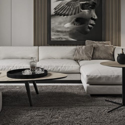 Goya Corner Sofa By Zebrano Luxury Furniture
