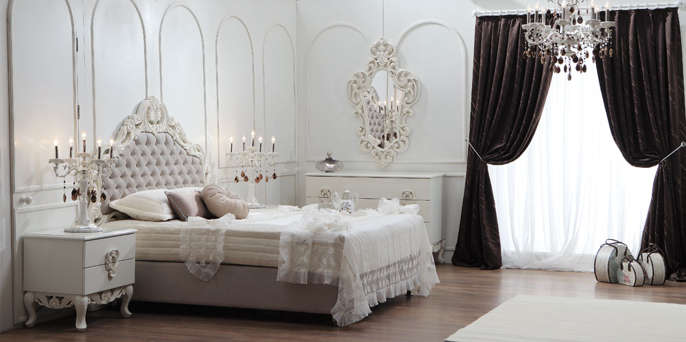 Lara Bed Room By Zebrano Luxury Furniture