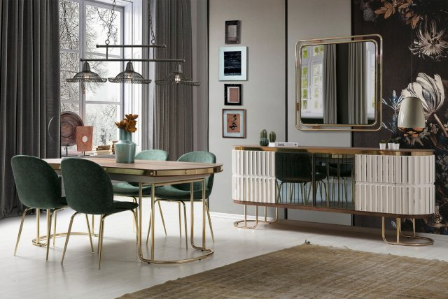 Lexus Dining Room By Pianno Luxury Furniture