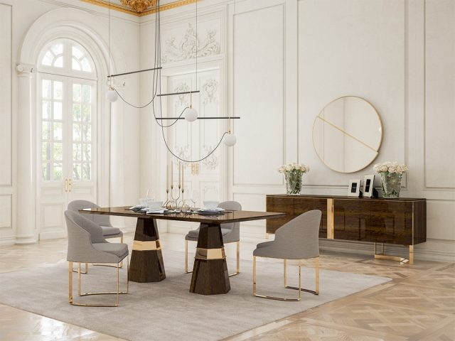 Lisa Dining Room By Nills Luxury Furniture