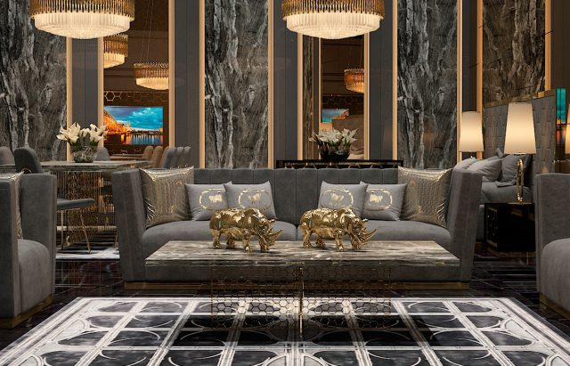 Mikerinos Living Room By Zebrano Luxury Furniture