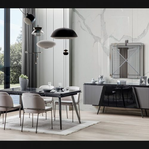 Mile Dining Room By Nills Luxury Furniture