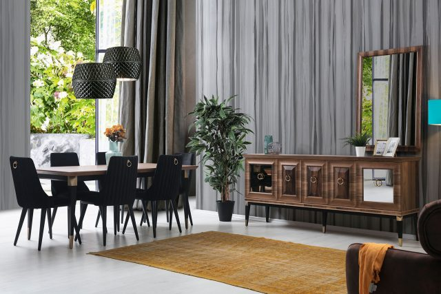 Monza Dining Room By Pianno Luxury Furniture