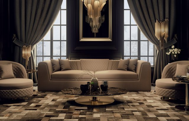 Penelope Living Room By Zebrano Luxury Furniture