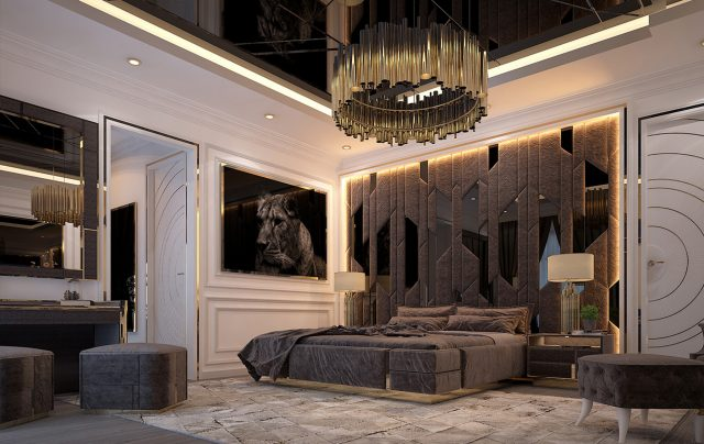 Rossi Bed Room By Zebrano Luxury Furniture