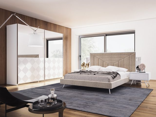 Vela Light Bed Room By Nills Luxury Furniture