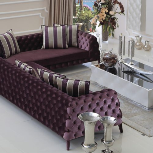 Virgine Corner Sofa By Zebrano Luxury Furniture