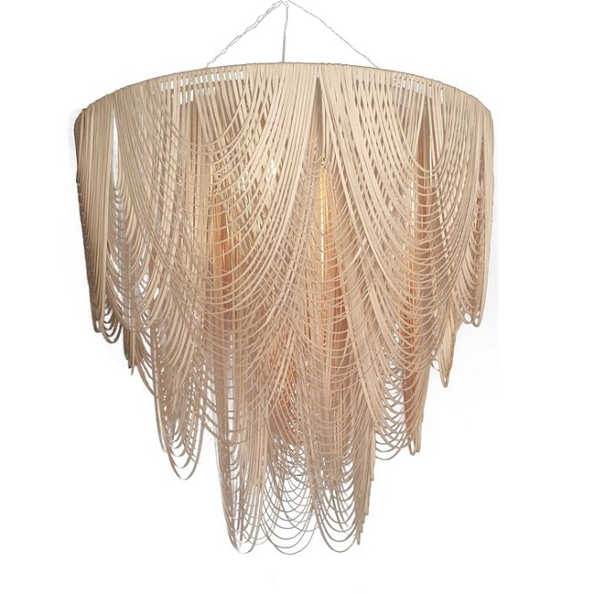 Leather Chandelier by Ngala