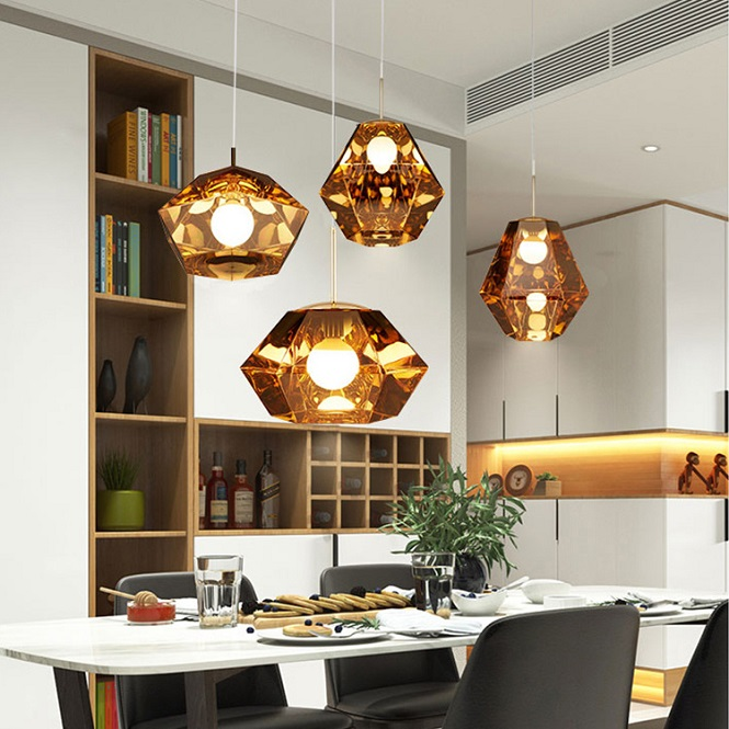 Modern Chandelier with Metal & PVC For Luxury Home and Hotel