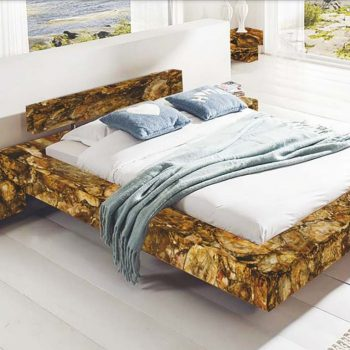 Semi Precious Stone Bed By Mangla Stone Group