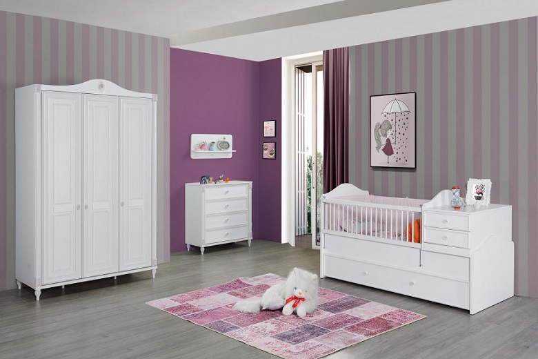 Kid's Bedroom Furniture For Baby Girl