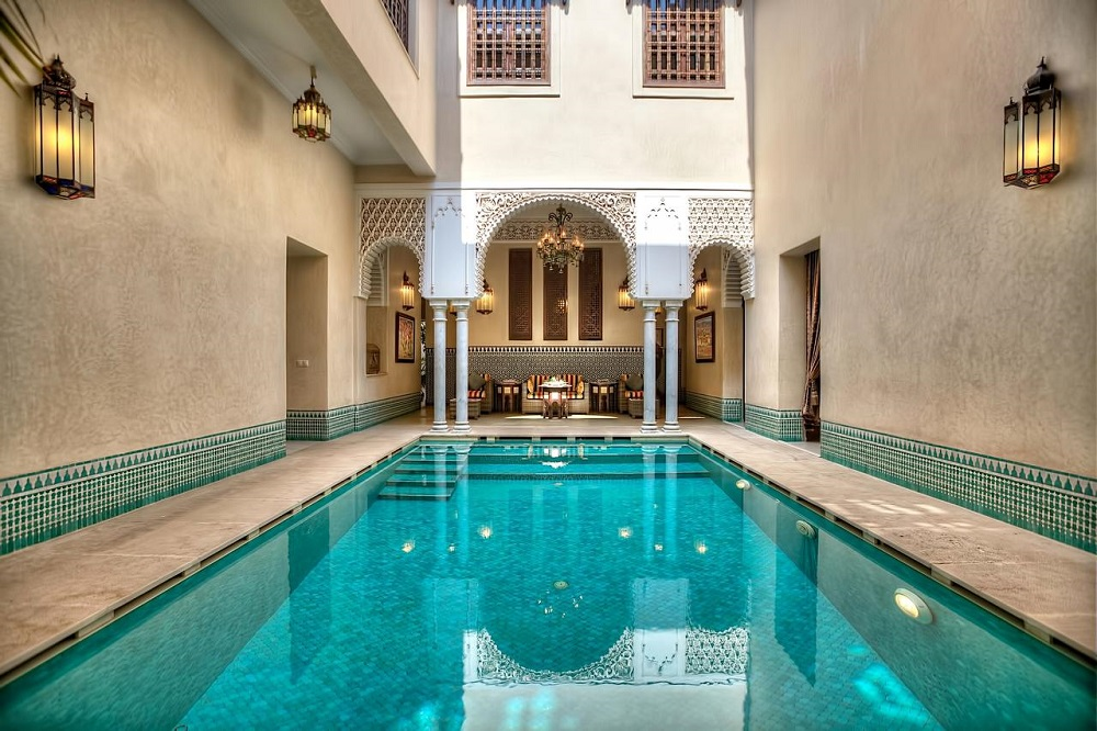 Moroccan Tile For Luxury Swimming Pool